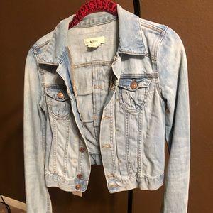 H&M light blue denim jacket
